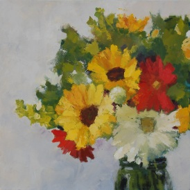 """""""Flowers in Jar"""" - Cynthia Murray"""
