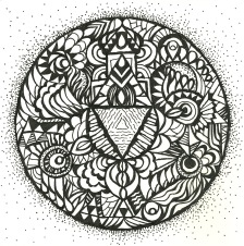 """Intuitive Mandala"" - Paul Downie"