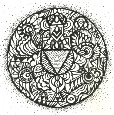 """""""Intuitive Mandala"""" - Paul Downie"""
