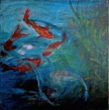 """Koi Pond"" - Kathy McLamb"