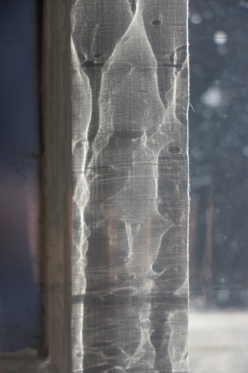 Abstract Light with Snow