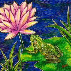 Frog, by Rinal Parikh