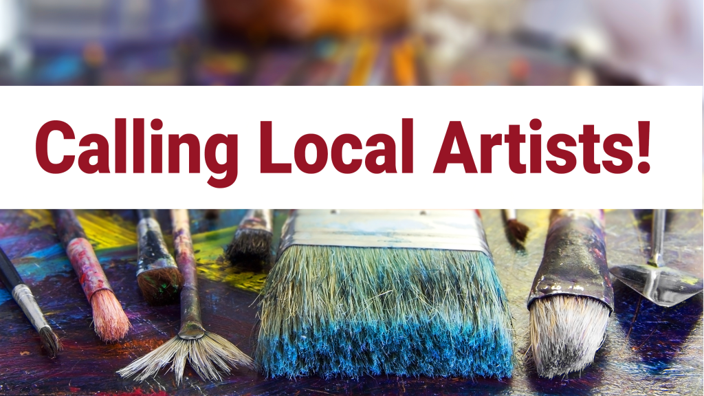 Calling Local Artists