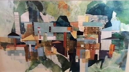 """Harborside I"" by Joan Sobel"