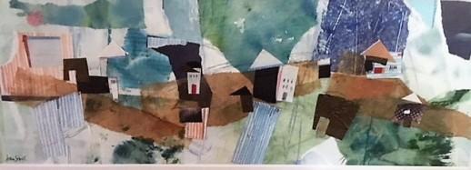 """""""Harborside II"""" by Joan Sobel"""