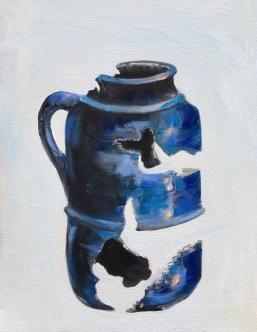 Pete Prown - Antiquity (oil, 16x20)