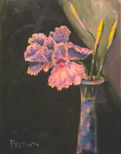 Pete Prown - Iris (oil, 11x14)