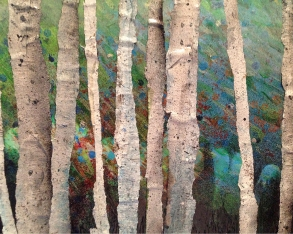 """Birches"" by Skip Gosnell"