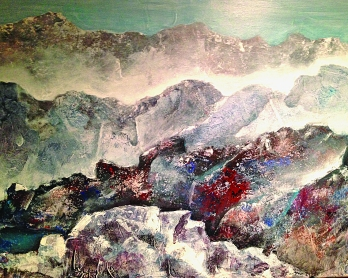 """Hidden Lake"" by Skip Gosnell"